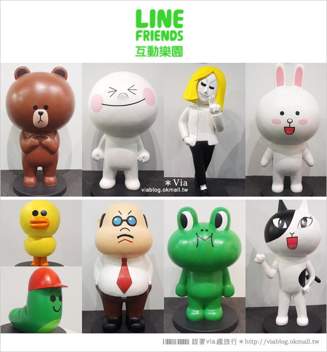 【台中line展2014】LINE台中展開幕囉!趕快來去LINE FRIENDS互動樂園玩耍去!(圖爆多)13