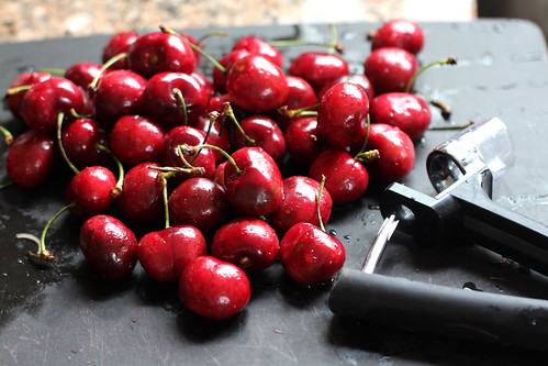pile of cherries