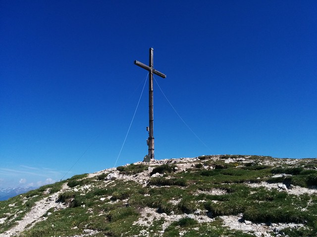 Piz da Peres Gipfelkreuz, Kronplatzgebiet