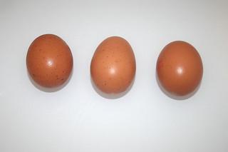 09 - Zutat Eier / Ingredient eggs