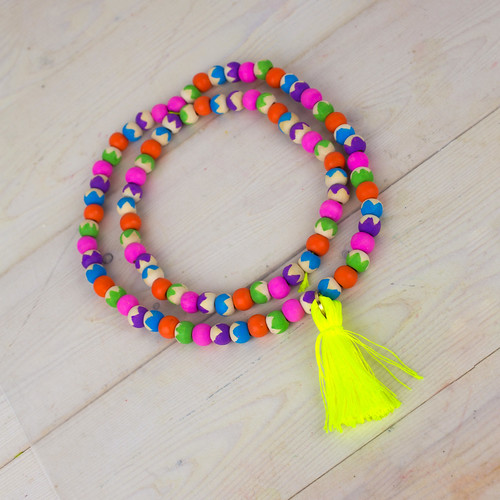 DIY Tassel Necklace #PaintYourWay