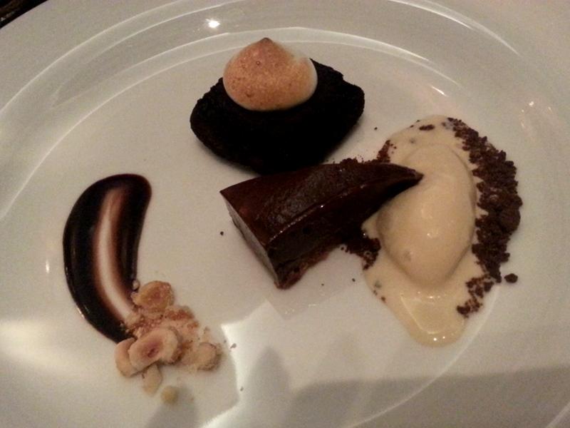 Stock Restaurant dessert