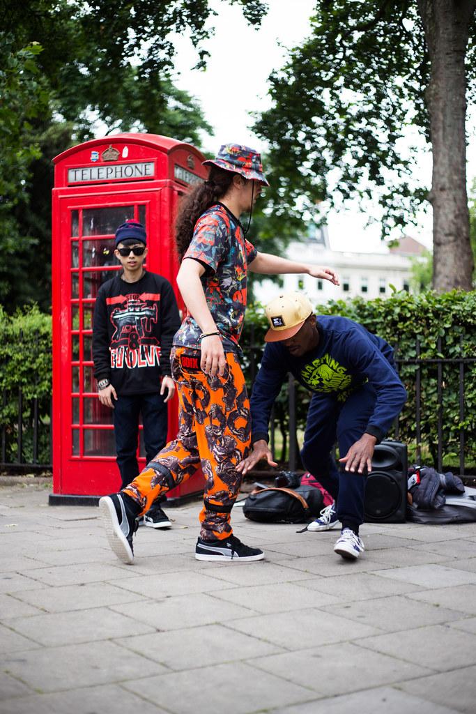 Street Style - Reece, Kevin & Jason, London Collections: Men