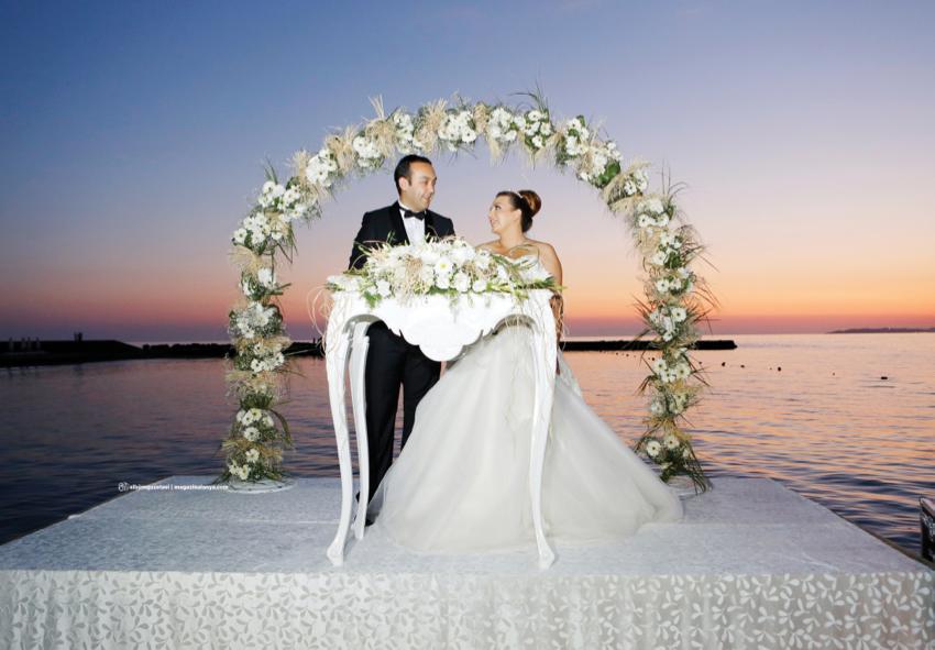 Emin Babaoğlu ve Gülçin Yıldızlı evlendi