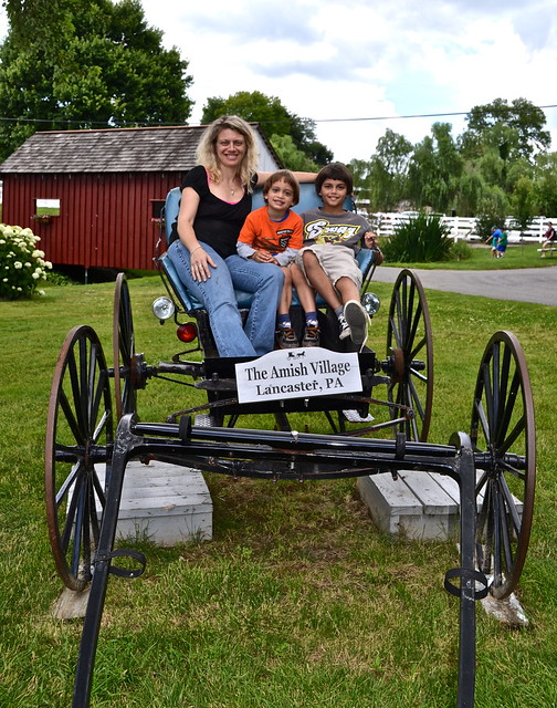 Family fun - Amish Village Lancaster County PA