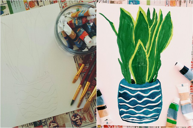 workspace wednesday: plant portrait