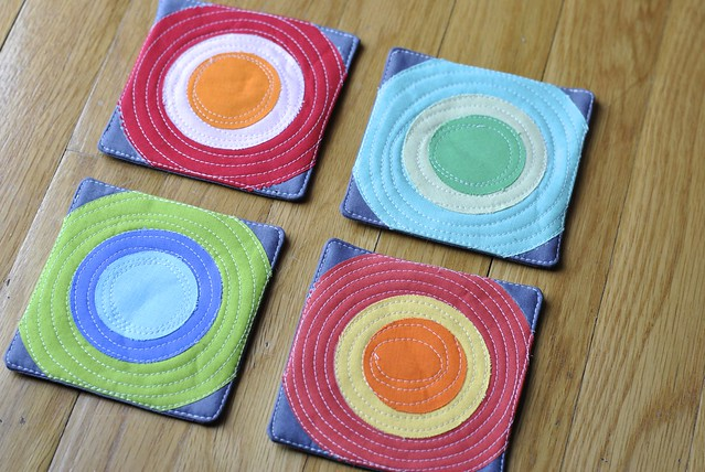 Coasters for Fresh Quilts Mag