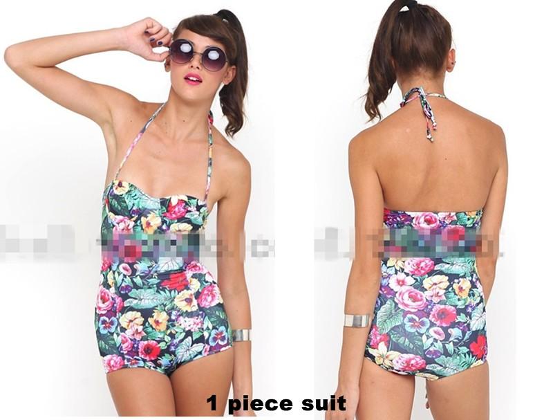 SW 4 Topshop Forest Bikini 1piece