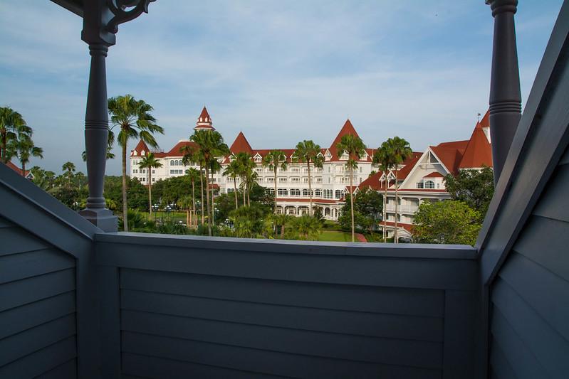 Grand Floridian Dormer Balcony