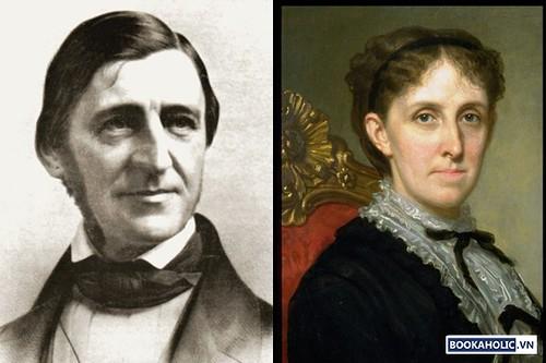 Ralph Waldo Emerson and Louisa May Alcott