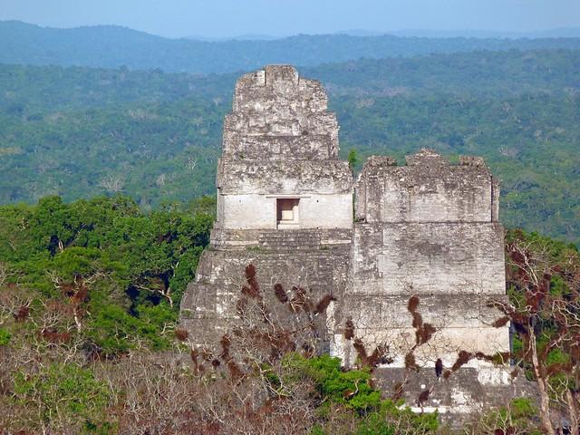 Templos I y II de Tikal (Guatemala)