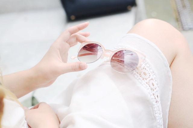 New Look Pastel Sunglasses