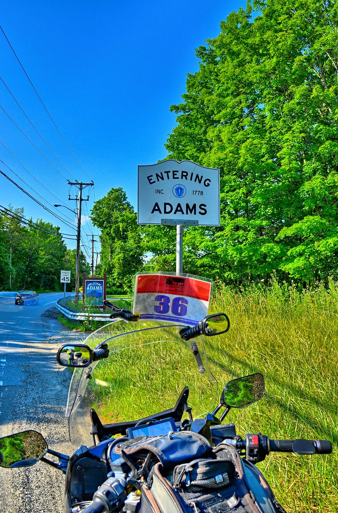 Entering Adams MA