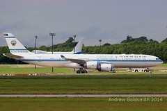 1156 9K-GBB A340 State of Kuwait