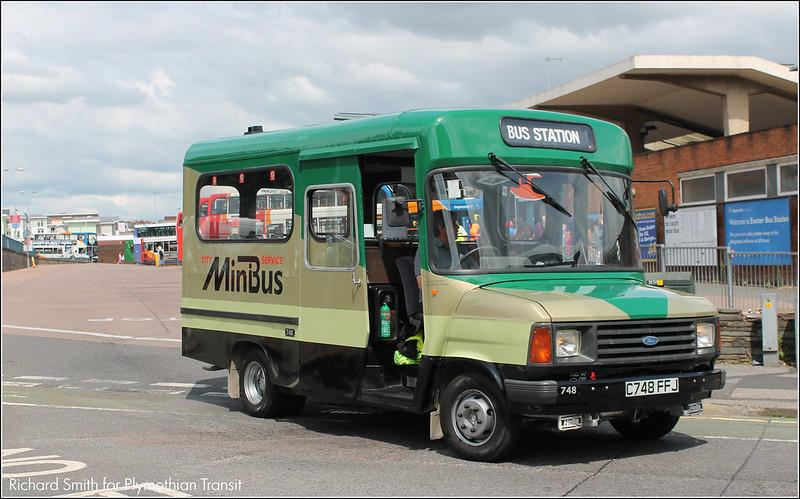 Exeter Bus Rally C748EFJ