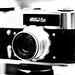 Camera «FED 5v» and lens «Industar 26m»