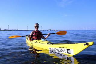 Amager Strandpark kayaking