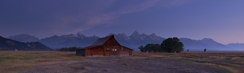 Dawn at Moulton Barn - Grand Teton National Park