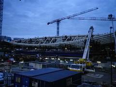 Les Halles construction