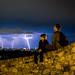 Lightning over Belgrade by Patberg