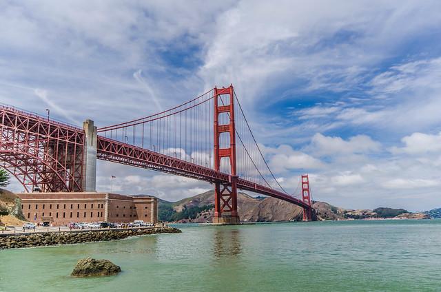 Golden Gate Bridge by CC user kjarrett on Flickr