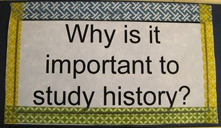 """Why History?"" Hamburger Fold Book #1"