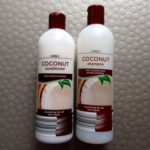 Coconut shampoo, and conditioner