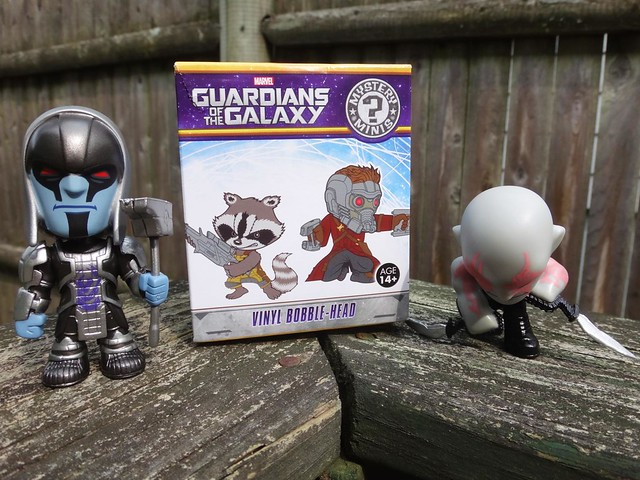 Guardians of the Galaxy Funko Mystery Mini Bobbleheads