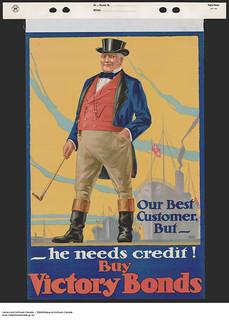 Our Best Customer, But—He Needs Credit! / C'est notre meilleur client – Mais il a besoin de crédit!