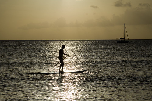 ocean sunset sea mer sol beach water silhouette backlight gold soleil mar agua champagne coucher playa du barbados caribbean backlit plage tarde oceano mtrej