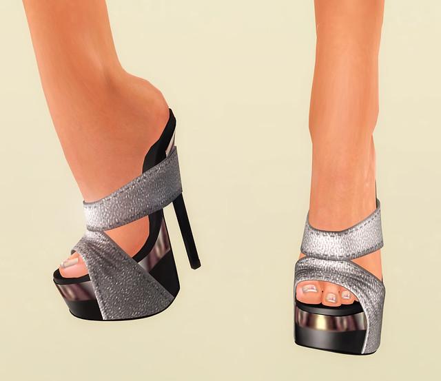 Desire Silver Heels