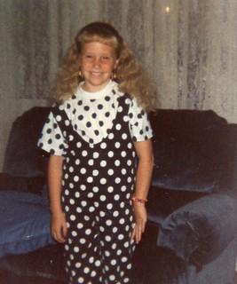 Britt-8 yrs old in polka dots