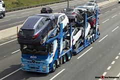 Mercedes-Benz Actros 6x2 Car Transporter - W14 ECM - ECM - M1 J10 Luton - Steven Gray - IMG_7058