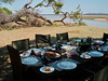 It's post-safari and lunch awaits - Kafunta Lodge South Luangwa IMGP0556