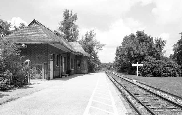St Mary's Train Station