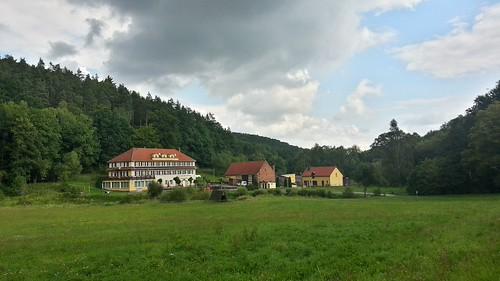 Erkundungstour zum Mühltal von Gera Richtung Bad Klosterlausnitz 24.8.2014