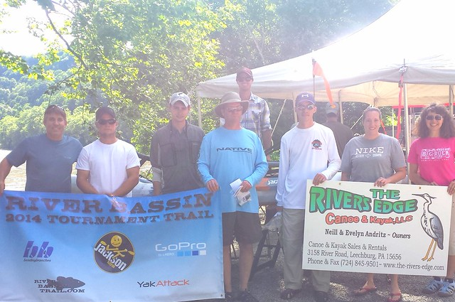 Top 5 individuals at the River Bassin Trail stop in Leechburg