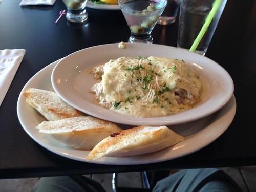 Seafood Lasagne at Castaways