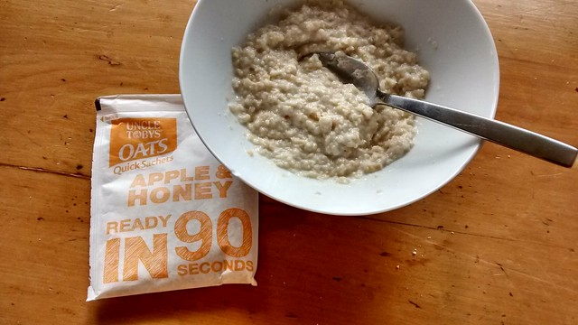 Uncle Toby's Oats QuickOats 90-Second Sachets