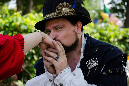 Sea Captains Wooing the ladies