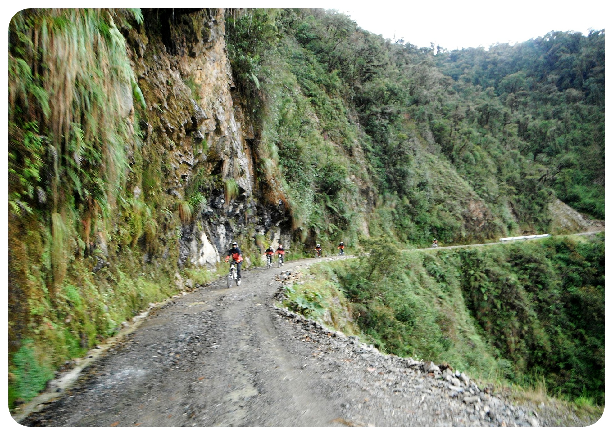death road yungas road bolivia