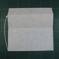 วิธีพับกล่องของขวัญแบบมีฝาปิด (Origami Present Box With Lid) 005