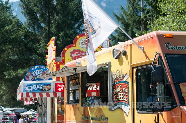 2014 Squamish Valley Music Fest food carts