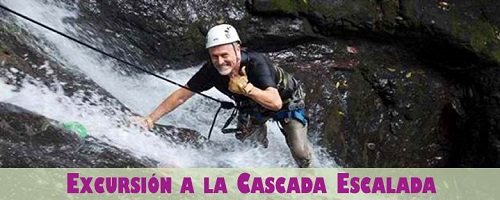 Excursion Cascada Escalada en Costa Rica Pacifico
