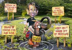 Bobby Jindal - Deep in the Stupid Swamp