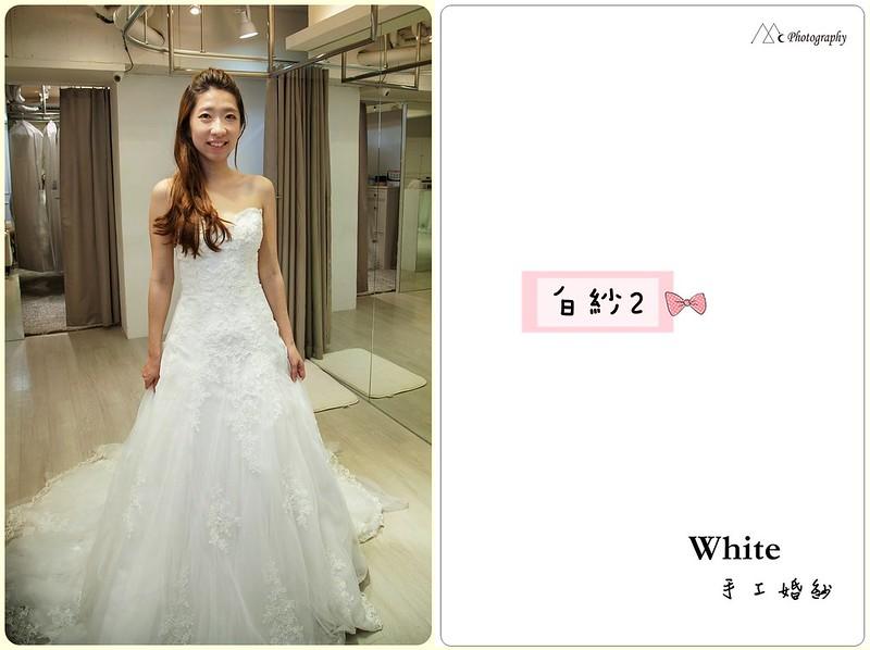 WHITE  白紗2-1