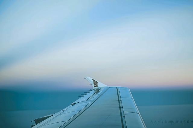 In The Air- GULF AIR