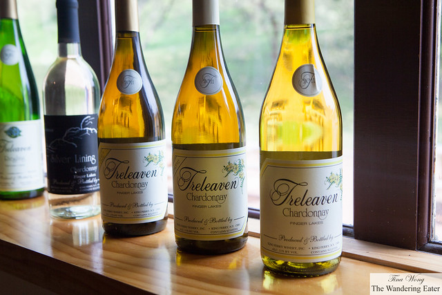 Treleaven Chardonnays