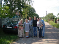 Igor's family in Korosten