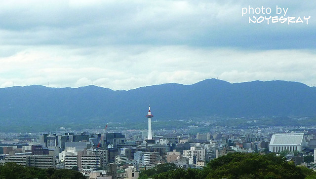 清水寺看京都塔